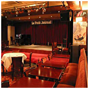 Le Petit journal Montparnasse - Brasserie - Club de Jazz dans le 14eme arrondissement de Paris - Photo ©